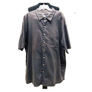 🔥🔥 Van Heusen Short Sleeve Button Up Shirt 3X